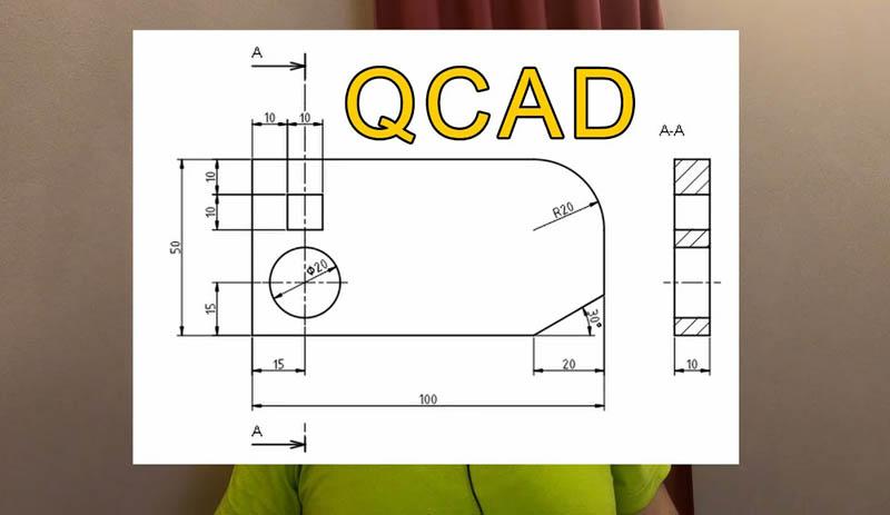 QCAD Lazer kesim programi