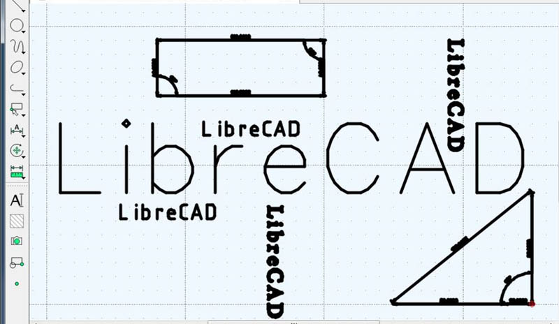 librecad 2D lazer kesim